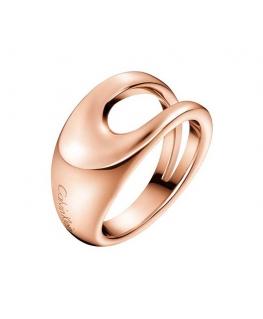 Anello Calvin Klein Shade acciaio oro rosa