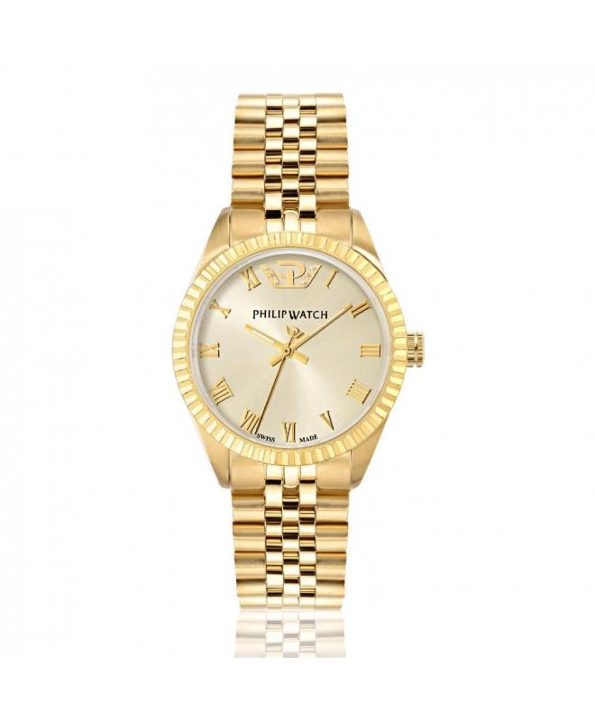 Orologio Philip Watch Caribe dorato donna 35 mm R8253597518 - galleria 1
