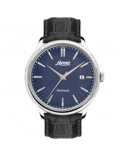 Orologio Lorenz Vintage automatico blu - 41 mm