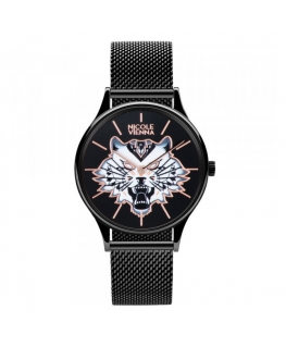 Orologio Nicole Vienna Tiger nero - 34 mm donna NV00100045