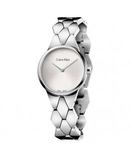 Orologio Calvin Klein Supreme silver - 28 mm