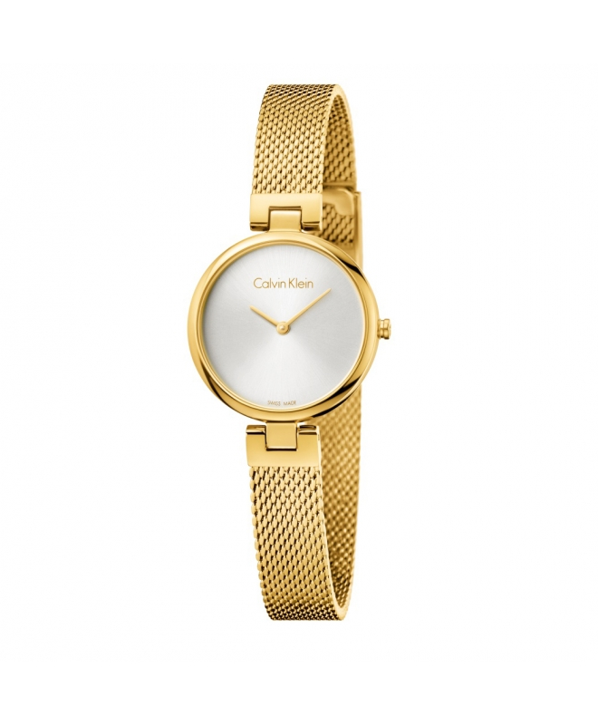 Orologio Calvin Klein Authentic dorato - 28 mm - galleria 1