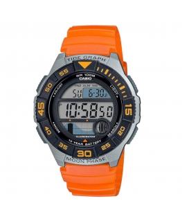Orologio Casio Digital arancione - 43 mm