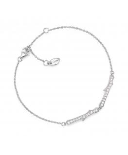 Bracciale Amen Casual donna argento cm 16+3 cm