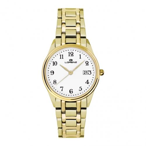 Orologio Lorenz donna Dorica data dorato donna 27178AA