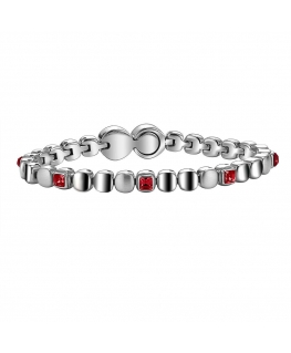 BREIL JEWELS ROLLING DIAMONDS RED - M