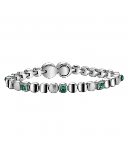 BREIL JEWELS ROLLING DIAMONDS VERDE - M