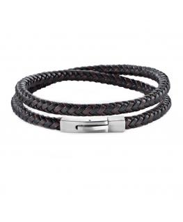 Bracciale Morellato Moody nero - 43 cm