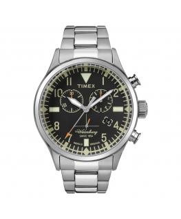 Orologio Timex Waterbury chrono acciaio - 42 mm