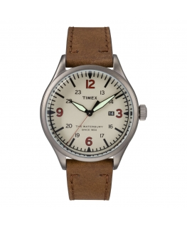 Orologio Timex Waterbury data beige - 40 mm