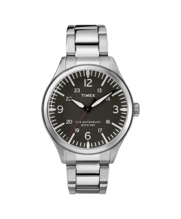 Orologio Timex Waterbury tempo acciaio nero - 37 mm