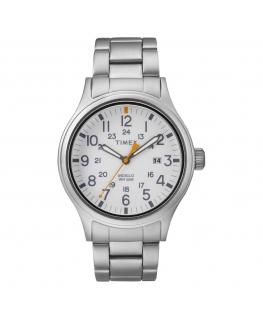 Orologio Timex Allied data acciaio bianco - 40 mm