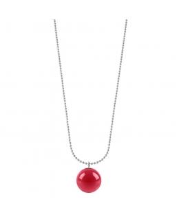 Pendente Morellato Boule rosso - 75+5 cm