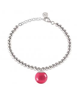 Bracciale Morellato Boule rosso - 16+3 cm