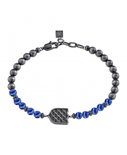 Bracciale Morellato Nobile vintage / blu 19+3 cm