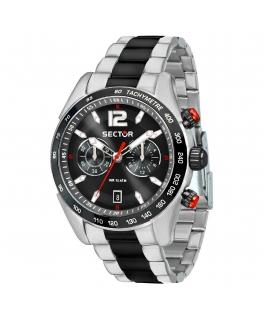 Orologio Sector 330 chrono nero - 45 mm