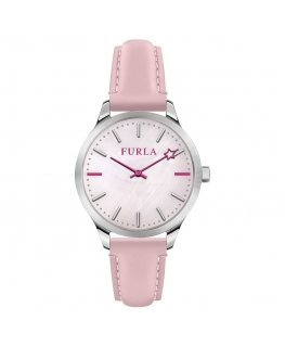 Furla Like 32mm 2h pink dial pink strap