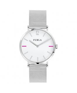 Furla Giada 33mm 2h white dial br ss