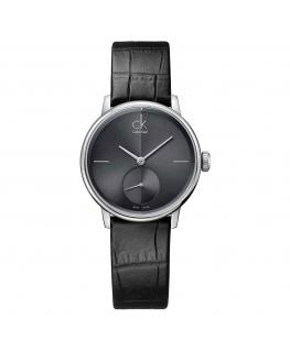 Orologio Calvin Klein Accent nero - 32 mm
