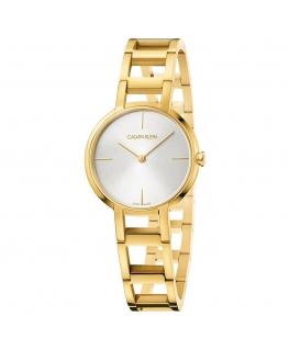 Orologio Calvin Klein Cheers dorato - 32 mm donna K8N23546