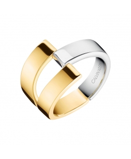 Anello Calvin Klein Truly oro / silver