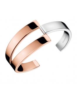 Bracciale Calvin Klein Truly oro rosa / silver