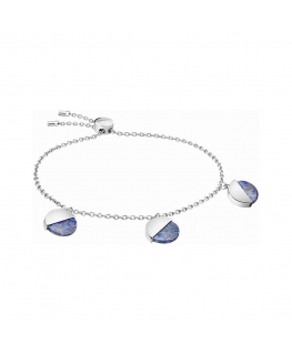 Bracciale Calvin Klein Spicy silver / viola - 16/25 cm