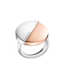 Anello Calvin Klein Spicy silver / oro rosa donna KJ8RPR2001