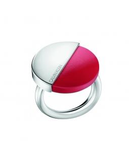 Anello Calvin Klein Spicy silver / rosso