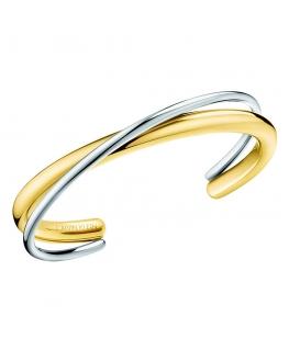 Bracciale Calvin Double oro / silver