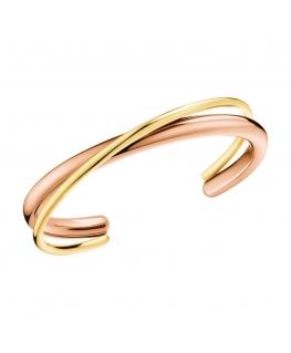 Bracciale Calvin Double oro rosa / oro