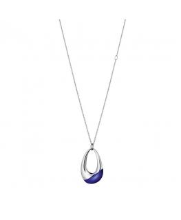 Collana Calvin Klein Ellipse blu - 70/90 cm