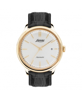 Orologio Lorenz Vintage automatico bianco - 41 mm