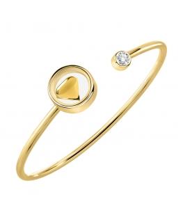 Bracciale Morellato Scrigno d'amore dorato arg.925 - 6 cm donna