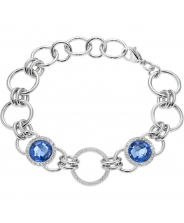 Bracciale Morellato Essenza blu - 16/19 cm