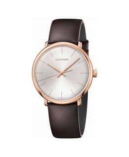 Orologio Calvin Klein High Moon pelle marrone - 40 mm