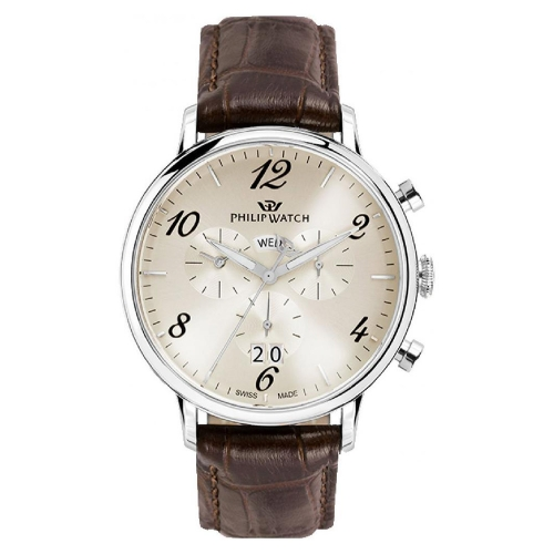 Orologio Philip Watch Truman crono marrone - 41mm uomo
