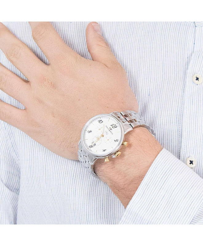 Orologio Philip Watch Truman crono acciaio 41mm uomo R8273695002 - galleria 2