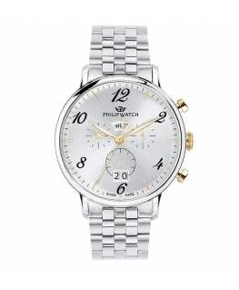 Orologio Philip Watch Truman crono acciaio 41mm uomo R8273695002