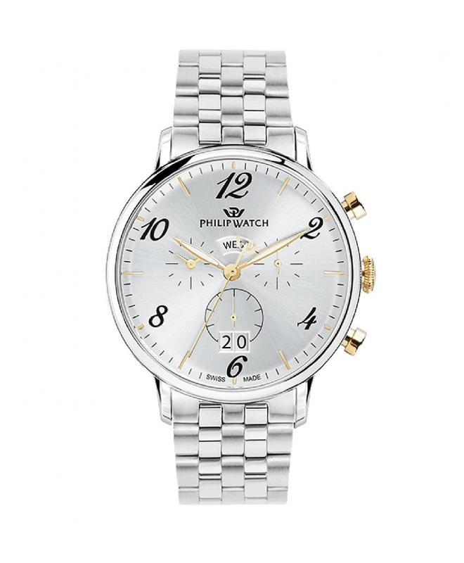 Orologio Philip Watch Truman crono acciaio 41mm uomo R8273695002 - galleria 1