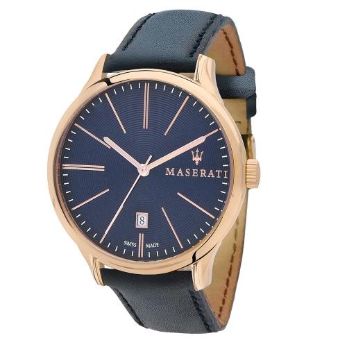 Orologio Maserati Attrazione blu - 43 mm uomo R8851126001