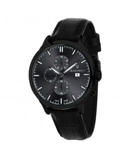 Orologio Maserati Attrazione chrono nero 43 mm