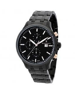 Orologio Maserati Attrazione chrono nero acciaio - 43 mm