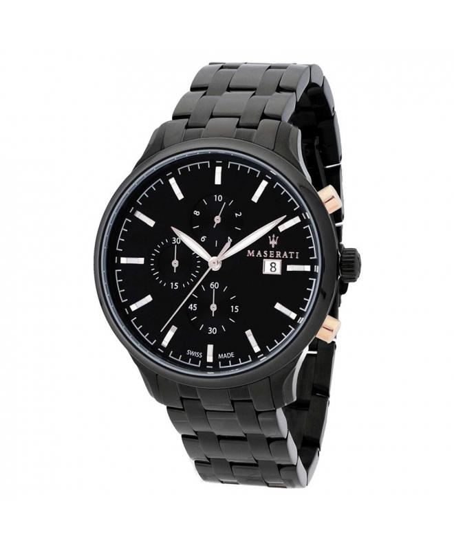 Orologio Maserati Attrazione chrono nero acciaio - 43 mm uomo - galleria 1