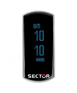 Sector Fit digital ss + blue 40x18mm