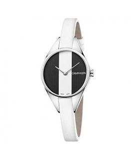 Orologio Calvin Klein Rebel bianco / nero - 30 mm
