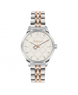 Orologio Furla Like shield bicolore 32 mm
