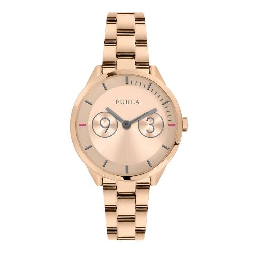 Orologio Furla Metropolis oro rosa 31 mm donna R4253102542