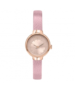 Orologio Furla Sleek pelle rosa 28 mm