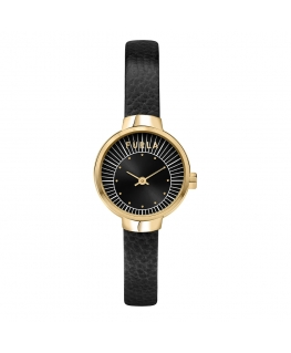 Orologio Furla Sleek pelle nero 28 mm